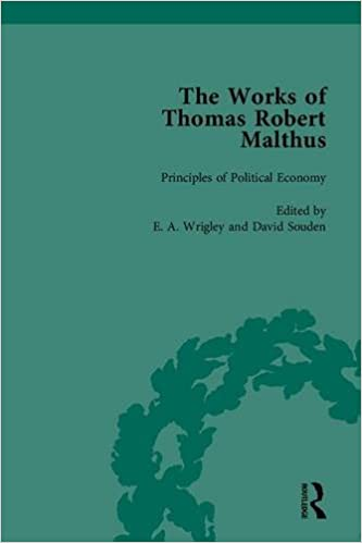 The Works of Thomas Robert Malthus (The Pickering Masters)