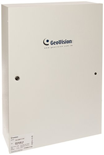 Geovision GV-AS8110 with Power Board & Iron Case Access Control Keypad, White (GV-AS8110)