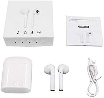 CRZJ Auriculares Bluetooth Inalámbricos Mini Twins Verdadero Estéreo I7mini I7s Bluetooth Auriculares TWS Bluetooth Auriculares,White: Amazon.es: ...
