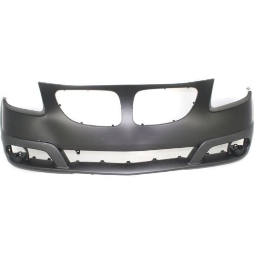 Make Auto Parts Manufacturing - VIBE 05-08 FRONT BUMPER COVER, Primed, w/ Appearance Package - (Pontiac Vibe Bumper Cover)