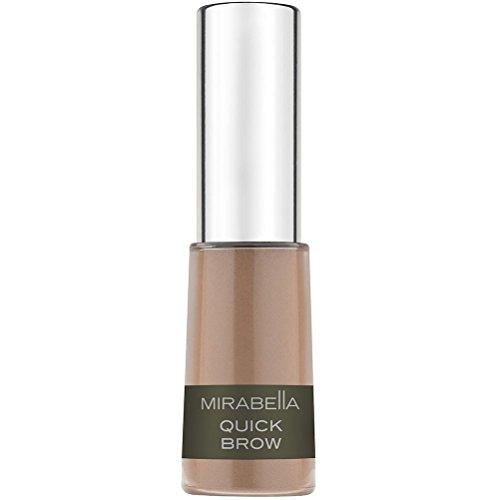 Mirabella Quick Brow Powder Filler for Eyebrows - Light/Medium, 3.44g/0.12oz (Color Makeup Changer)