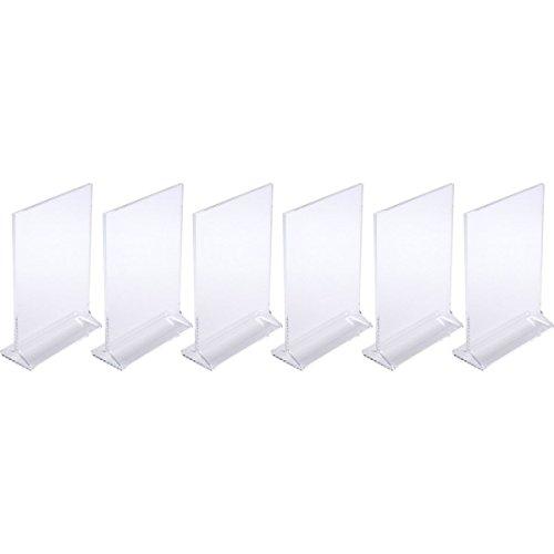 Plastic Table Tents - 4