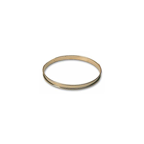 "Matfer Bourgeat 371708 4"" x 3/4"" Small Flan Ring - 6 / PK"