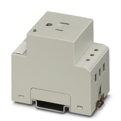 Phoenix Contact 125V 15A Single Power Outlet 2963860