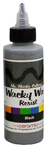 Wacky Wax Resist, Black, 4 oz