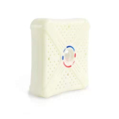 Mini Dehumidifier Renewable Cordless - for Small Spaces 800 Cubic Feet (100 sq ft) - Gun Safe, Wardrobe, Cabinet
