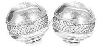 L'Objet Decorative Crystal Braid Spice Jewels - Platinum - Lobjet Platinum Braid