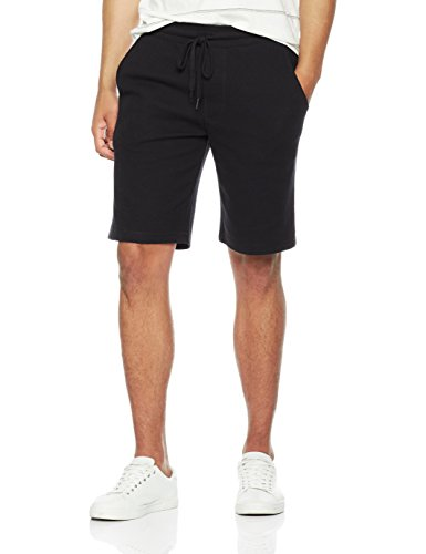 Rebel Canyon Men's Young Super Soft Thermal Lounge Shorts Small Black