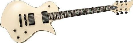Fernandes – Guitarra eléctrica Ravelle Deluxe transparente ámbar ...