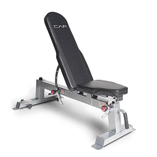 Rep Adjustable Bench Ab 3100 V3 1 000 Lb Rated Black
