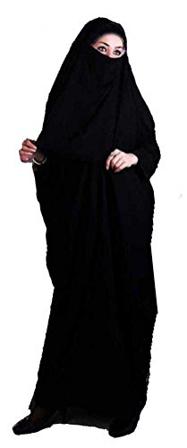 Maxi Modest Muslim Woman Overhead Afghan Afghanistan Burqa Jilbab Khimar Niqab Veil Body Cover