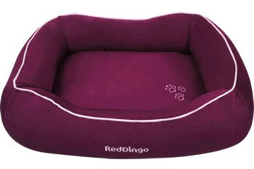 Red Dingo Pet Donut Bed, Large, Purple