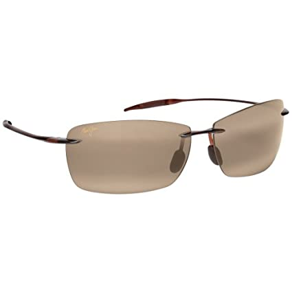 ec106016e4c5d Amazon.com   Maui Jim Lighthouse Polarized Sunglasses - (Rootbeer Hcl  Bronze)   Sports   Outdoors