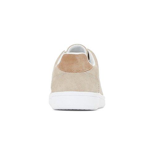 La Redoute Collections Jungen Flache Sneakers 2639 Gre 27 Beige