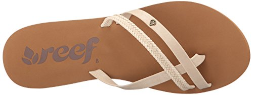 Girls' Flops Flip O'Contrare Reef Beige 6 Lx Cream White TZqvgwOx