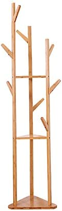 XRXY 床材ソリッドウッドコートラック/シンプルなコーナーハンガー/モダン/家庭用/縦型ハンガー170 * 36 cm
