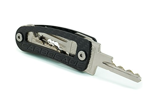 CARBOCAGE KEYCAGE - the smart carbon key organizer - made in Germany (Carbon Fiber Keychain compare prices)
