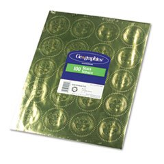 ** Gold Foil Embossed ''Official Seal of Excellence'' Seals, 100/Pack **