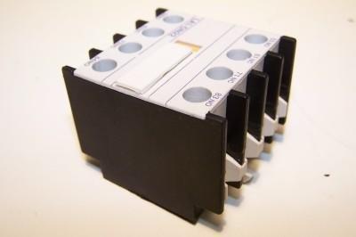 1- TELEMECANIQUE LA1DN22 SQUARE D SCHNEIDER CONTACTOR AUXILIARY CONTACT BLOCK 10 AMP 2NO-2NC 10A LA1DN 22 ()