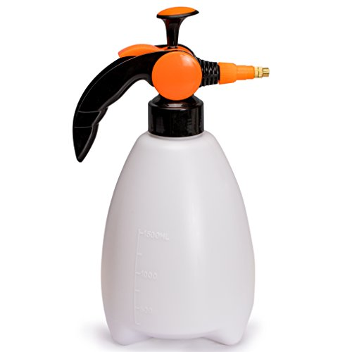 Water Mister & Spray Bottle for Plants & Gardens, Adjustable Pressure Nozzle, 1.5 Liter, Mr. Mister