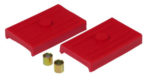 Prothane 7-1701 Red Rear Multi Leaf Spring Pad Kit