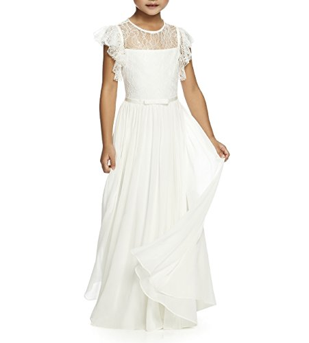 Simlehouse Lace Tulle First Communion Dresses Cheap Flower Girl (Cheap Communion Dress)
