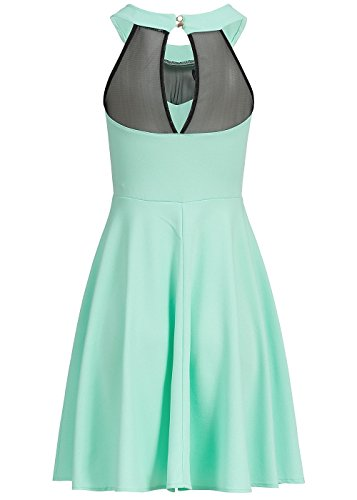 violet Fashion - Vestido - para mujer Mint Grün