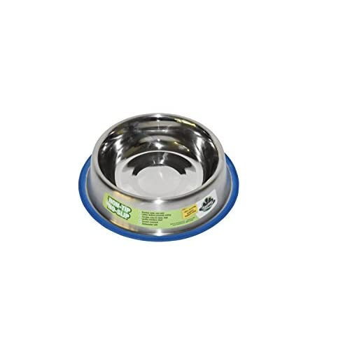 durable modeling Stellar Bowls Non Tip Anti Skid Dish with 100% Silicon Bonded Rubber Ring, 8 oz