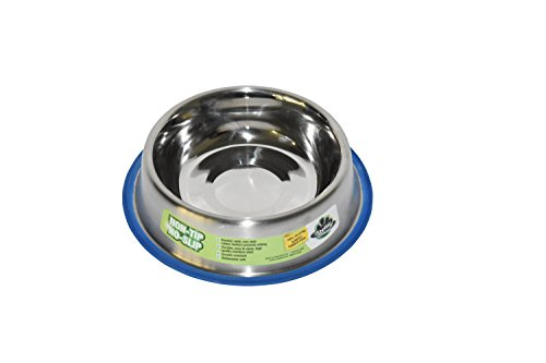 Stellar Bowls Non Tip Anti Skid Dish with 100% Silicon Bonded Rubber Ring, 32 (Non Tip Dish)