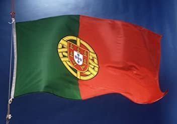 Portugal Country Flag 3X5 Feet