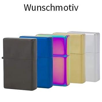 Namensgravur inkl schwarz USB-Feuerzeug Mit Glühspirale Aufladbar