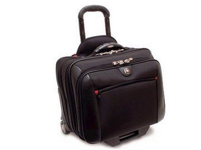 SWISS GEAR POTOMAC ROLLING 2-PIECE BUSINESS SET BLACK - 67966020 by Swiss Gear