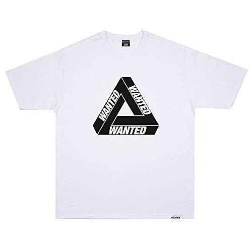 Camiseta Wanted - Escher Branco Cor:Branco;Tamanho:M