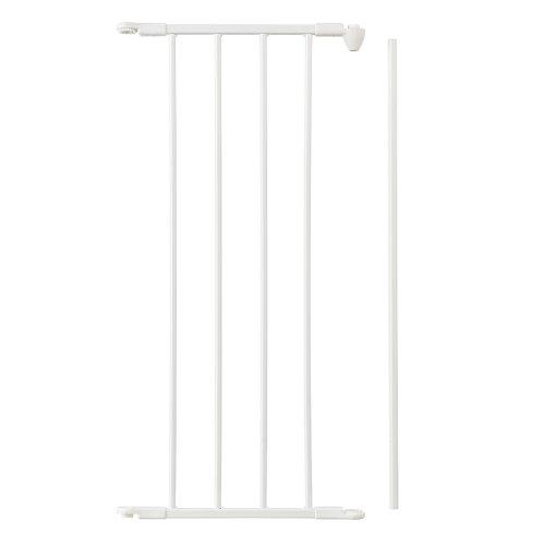 BabyDan - Extension pour Barrière Flex M, L et XL - Blanc - 33 cm