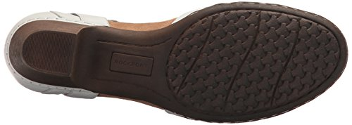 Abbott Collina Cobb Nera Bianca In T Curve Sandalo Pelle Donna rPPdwpx5q
