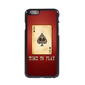 LZX Poker of A Pattern Aluminum Hard Case for iPhone 6 Plus