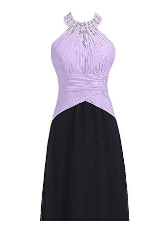 91143673ea27 Kristall Gorgeous Elegant Neckholder Lilac-kurz Empire Abendkleider ...