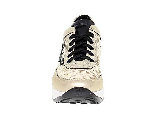 Line Ruco1304o Zapatillas Cuero Oro Ruco Mujer YZvvF