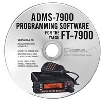 Yaesu ADMS-7900 Programming Software on CD with USB Computer Interface Cable for FT-7900R by RT (Column Usb Cable)