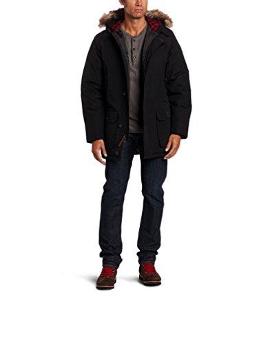 [해외]울 리치 맨 즈 아틱 다운 파커 550 필 블랙 / Woolrich Men`s Arctic Down Parka 550 Fill Black