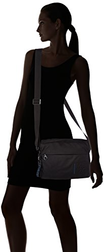 de Mandarina Duck bolsos Md20 Mujer Negro Shoppers y Tracolla Black hombro 4ZqwRZYg