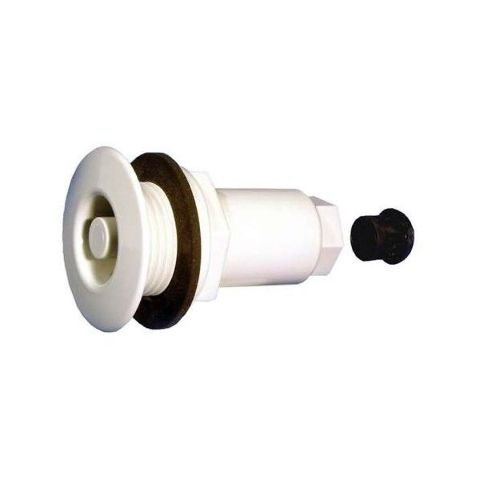 Allied Spa Thermowell Wall fitting Thru-Wall Drywell White 990451-000 by Allied Innovations