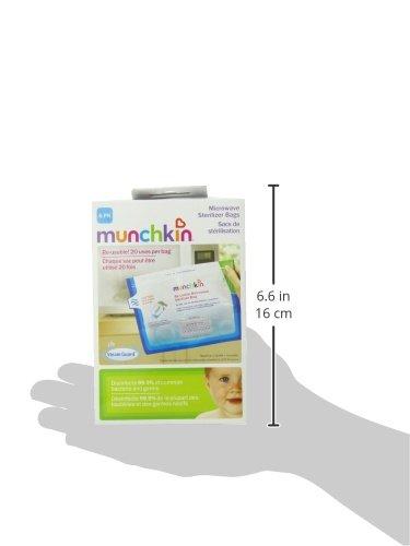 Amazon.com: Munchkin Vapor Guardia Microondas Esterilizador ...