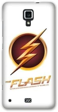 Amazon.com: Case Wiko Harry WB License The Flash - Log Blanc ...