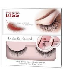 Kiss Looks So Natural False Lashes - Pretty (Pack of 3) by Kiss