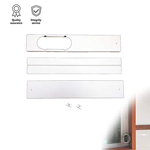 Portable AC Replacement Window Bracket Window Seal PVC Seal Bracket,Window Slide Kit Plate for Mobile Air Conditioner 3 Pack