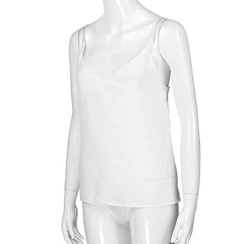 ... Encaje sin Mangas Sexy Chaleco Camiseta sin Mangas del Camisole de la Moda del Chaleco Atractivo del cordón de Las Mujeres: Amazon.es: Ropa y accesorios
