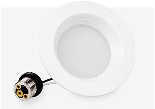 CY LED 4 Inch Dimmable LED Downlight,Energy Star,UL List 9W 75W Equivalent 5000K White 900Lm,LED Recessed Lighting Fixture,Ceiling Light 2-Pack