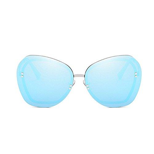 Protection GUOHONGCX Gafas Sol Sports Marco Personalidad Unisex Eye A Wind Avant De Diamante Protector Metal E Irregular De Moda Trend Care De Sol Gafas a0rqa