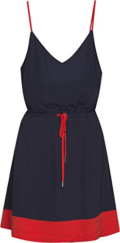 Tommy Robe Iris Jeans Femme 002 black Strap Essential Dress Tjw Blau pArxpqSa